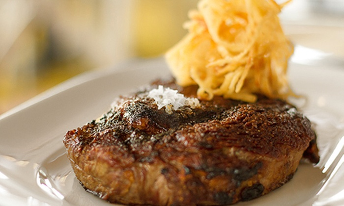 Delmonico's of Southampton - Southampton: Four-Course Farm-to-Table Meal with Wine (Up to 54% Off). Four Options Available.