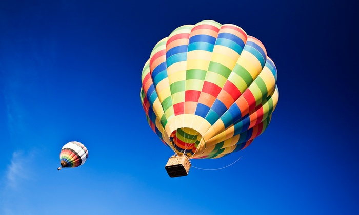 Soaring Adventures of America Incorporated - Boston: Flight Ticket for Hot-Air Balloon Ride for One or Two from Soaring Adventures of America, Inc. (Up to 14% Off)