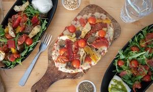 Salade ou bruschetta au choix avec dessert et lambrusco Aix-en-Provence