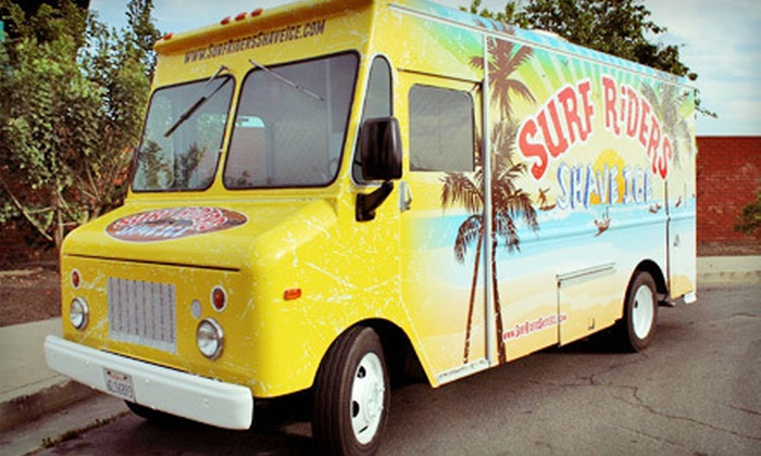 Surf Riders Shave Ice - Granada Hills South: 5 or 10 Regular Shaved Ices at Surf Riders Shave Ice (Up to 57% Off)
