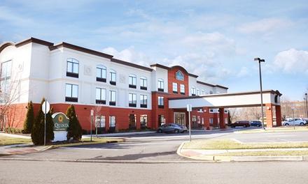 groupon daily deal - Stay at La Quinta Inn & Suites Mt. Laurel-Philadelphia in Mount Laurel, NJ, with Dates into April