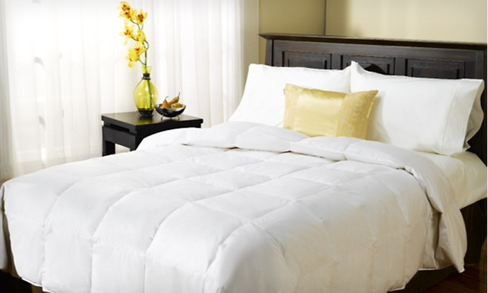 Springs Home Feather Comforters: Springs Home Feather Comforters in White (Up to 81% Off). Three Sizes Available.