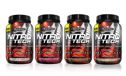 2lb. Tub of Muscletech Nitro Tech Whey-Protein Isolate