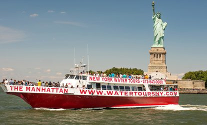 image for Downtown Liberty Cruise for One or Two with New York Water <strong>Tours</strong> (Up to 52% Off)
