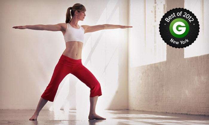 Bikram Yoga Williamsburg - Greenpoint: 5, 10, or 20 Hot Yoga Classes at Bikram Yoga Williamsburg (Up to 75% Off)