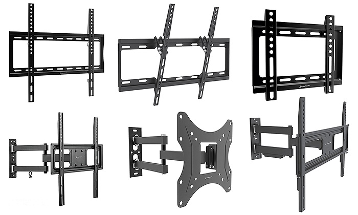 GForce TV Wall Mounts for HDTVs up to 70