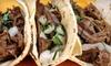 Taqueria Taco-Riendo - Pasadena: Mexican Cuisine at Taqueria Taco-Riendo (Half Off). Two Options Available.