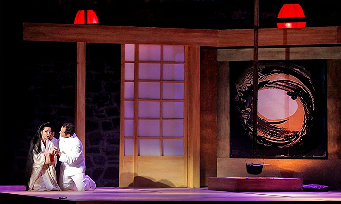 """""""Madam Butterfly"""" - Multiple Locations: Hawaii Opera Theatre's """"Madam Butterfly"""" at Blaisdell Concert Hall on October 10 or 14 (Up to 44% Off)"""