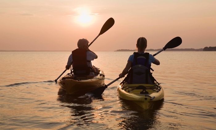 Kayak and Standup-Paddleboard Packages from Manhattan Kayak (Up to 58% Off). Seven Options Available.