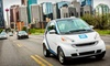 Car2Go - Austin: $17 for Car-Sharing Registration and 60 Minutes of Driving Time to car2go (Up to $56 Value)
