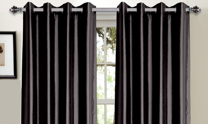 Bella Luna Blackout Curtains: Bella Luna Blackout Curtain Pair