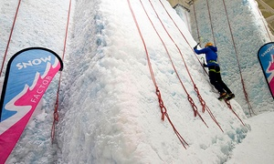 Snow Factor - Glasgow: Ice Wall Climbing with a Meal For One or Two at Snow Factor (Up to 48% Off)