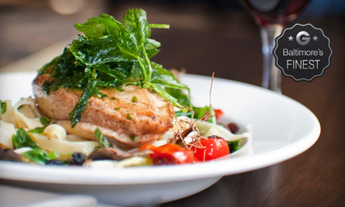 49 West - Annapolis: $25 for $50 Worth of Breakfast Dishes, Café Sandwiches, and Seafood Entrees at 49 West