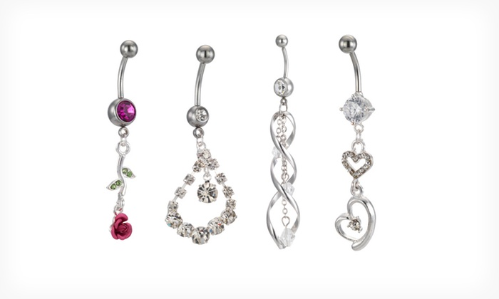 surgical steel body jewelry groupon goods