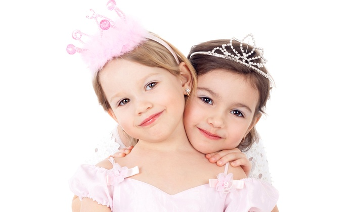 Parteaz - Maplewood: Four-Day Kids' Summer Princess Camp or Friday Drop-In Playdate at Parteaz (50% Off). Seven Options Available.