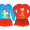 Lalaloopsy Girls' and Toddlers' Pajama Gowns