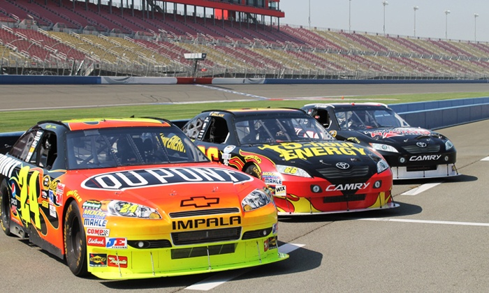 Rusty Wallace Racing Experience - Chicagoland Speedway: Super-Speedway Racing Experience or Ride-Along at Rusty Wallace Racing Experience (Up to 60% Off)