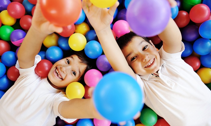 Kidz Spot - La Habra City: Eight 60-Minute Weekly Kidz Fitness Classes or Snake Birthday Party Package for 10 at Kidz Spot (Up to 50% Off)