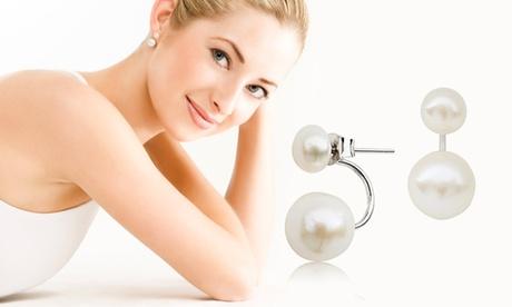 Orecchini con perle d'acqua dolce Zenzhu con o senza confezione. Vari set disponibili