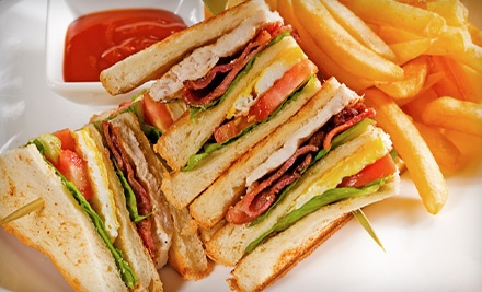 $15 for Three Visits for Casual American Food at Nibbles Cafe ($30 Value)