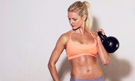 $37 for 10 Women's Boot-Camp Classes at The HardCore Gym ($165 Value)