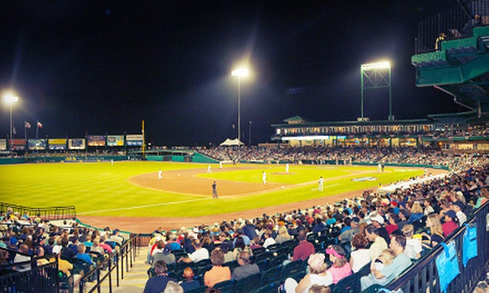 Sugar Land Skeeters - Sugar Land Town Square: $34 for a Sugar Land Skeeters Baseball Package for Four at Constellation Field ($69 Value). Four Games Available.