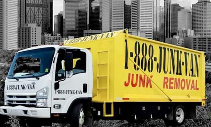 1-888-JUNK-VAN - Whalley: $35 for Removal of Up to 250 Pounds of Junk from 1-888-JUNK-VAN ($152 Value)