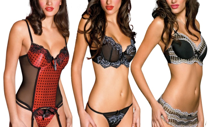 Sultry Women's Lingerie Sets (2-Piece)
