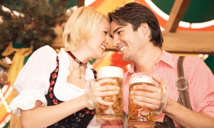 Admission for One, or VIP Package for Two or Four at New Bohemia Oktoberfest on September 26-27 (Up to 41% Off)