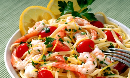 Italian Cuisine for Dinner at Napoli Italian Restaurant (Up to 40% Off). Two Options Available.