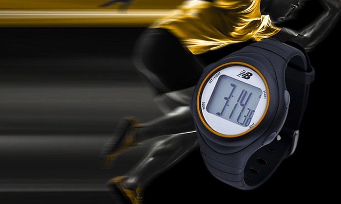 New Balance Watch with Heart Rate Monitor: New Balance Digital Watch with Heart Rate Monitor (NX301). Free Returns.
