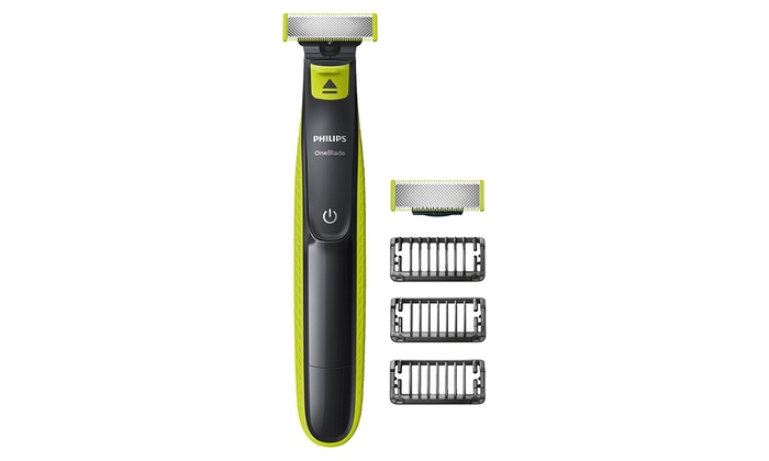 philips oneblade trimmer and shaver groupon goods. Black Bedroom Furniture Sets. Home Design Ideas