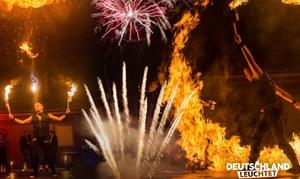 """eMax Entertainment: """"Deutschland leuchtet"""" inkl. Fan-Paket vom 20.08.-24.09.2016 in einer Stadt nach Wahl (40% sparen)"""