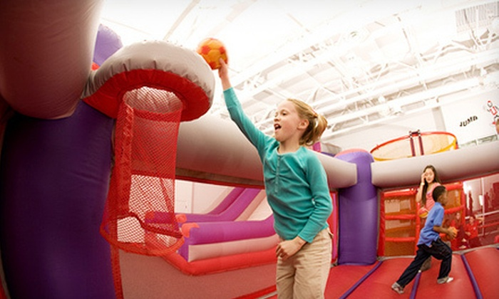 BounceU - Gilbert: Five Open-Bounce Visits or a Private Party for Up to 10 Kids at BounceU in Gilbert (Up to 58% Off)