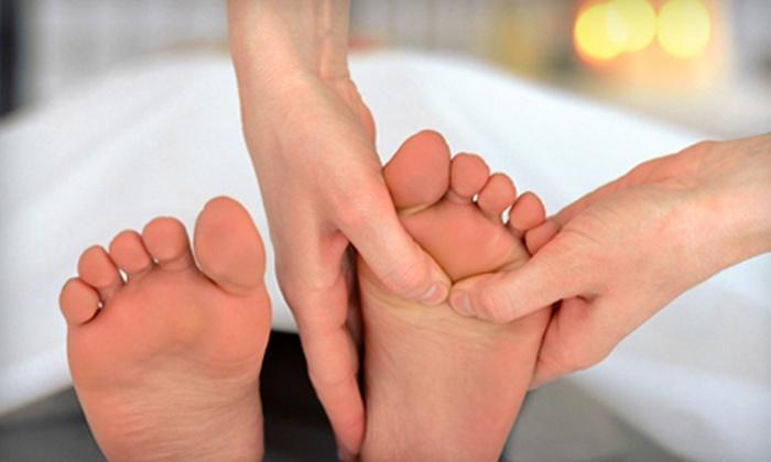 Trisha Long at Blissful Therapeutic Massage - Grand Blanc: Massage with Back Scrub or Massage with Foot Treatment from Trisha Long at Blissful Therapeutic Massage (Up to 54% Off)