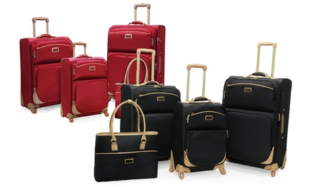 Nicole Miller Jane 4-Piece Luggage Sets