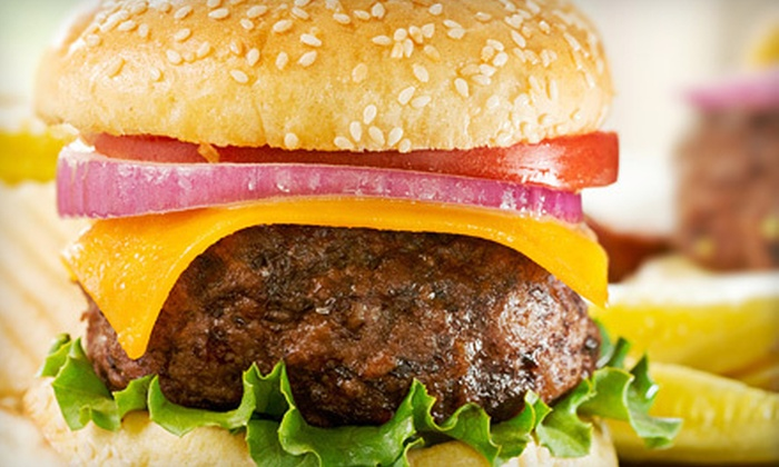 iBurgerLounge - West Downtown Dearborn: $10 for $20 Worth of Pizzas, Burgers, and Drinks at iBurgerLounge in Dearborn