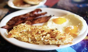 Frank's Diner: Breakfast, Lunch, Dinner, or Takeout at Frank's Diner (40% Off). Two Options Available.