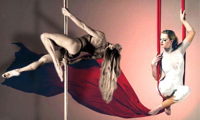 Ottawa Pole Fitness - Hintonburg - Mechanicsville: Four-Week Session of Pole-Fitness Courses or 90-Minute Aerial-Silks Workshop at Ottawa Pole Fitness (Up to 58% Off)