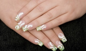 Tat'z To You: Three- or Five-Hour Mobile Nail-Art Party from Tat'z To You (Up to 63% Off)