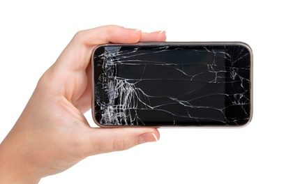 iPhone Screen Replacement at Phone Stitch & Repair (Up to 50% Off). Four Options Available.