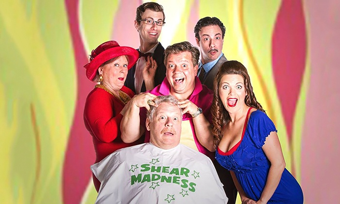"""""""Shear Madness"""" - Theatre Three - Norma Young Arena Stage and Theatre Too: """"Shear Madness"""" at Theatre Three, November 14–16 (Up to 50% Off)"""