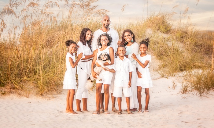 Dark Room Photography - Cape Canaveral: Family, Engagement, or Newborn Portrait Package from Dark Room Photography (Up to 82% Off)