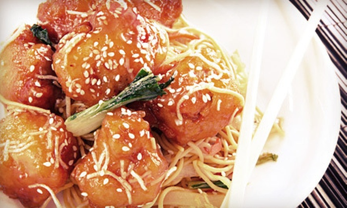 Pan of Asia - Lower Peters Canyon: Asian Fusion Cuisine for Two or Four at Pan of Asia (Half Off)