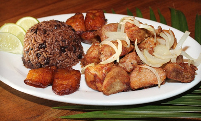 Bongos Cuban Café - Park West: Cuban Cuisine and Drinks for Two or Four at Bongos Cuban Café (Half Off)