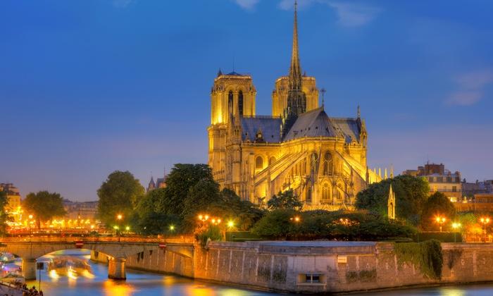 Forest Hill Paris La Villette - Paris: Paris: 1 à 3 nuits avec petit-déjeuner et croisière sur la Seine en option au Forest Hill La Villette 4* pour 2 à 4 pers