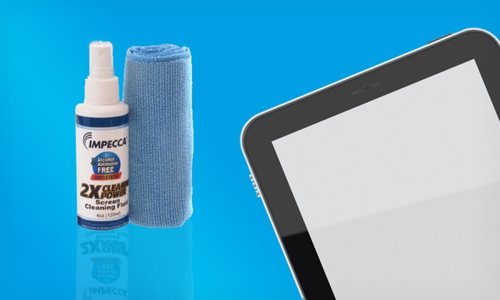 Impecca Screen Cleaning Kit: Impecca Screen Cleaning Kit. Free Returns.