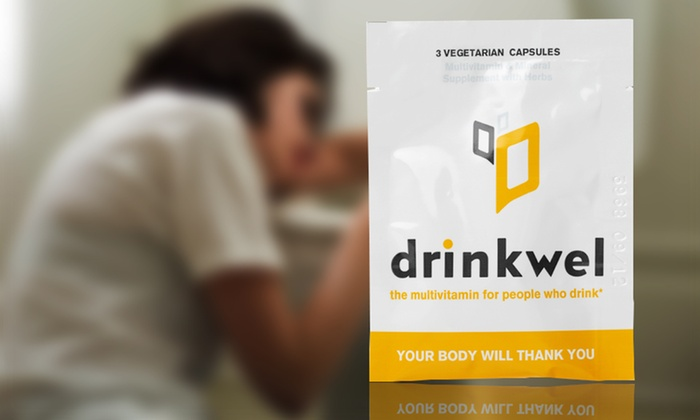 10 Drinkwel Multivitamin Packets for Hangovers: 10 Drinkwel To-Go Multivitamin Packets for Hangovers