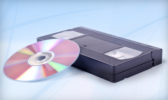 Advanced Video Systems - Advanced Video Systems: Conversion of Videotape or 100 or 200 Photographs to DVD at Advanced Video Systems in Owings Mills (Up to 78% Off)