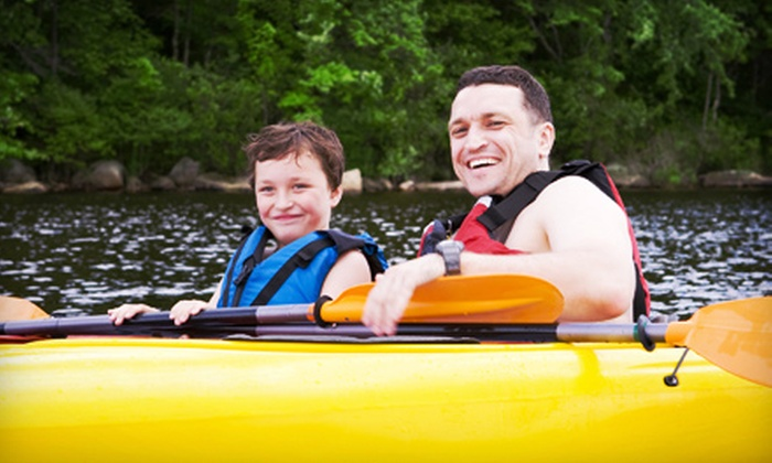 Treasure Cove Resort Marina - Riverhead: $29 for a Two-Hour Kayak or Canoe Rental for Two and $5 Food Voucher from Treasure Cove Resort Marina ($40 Value)